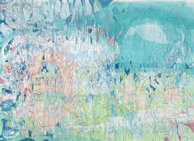 Janaina Tschäpe, 'Girl Watching a Bird in the Horizon', 2015