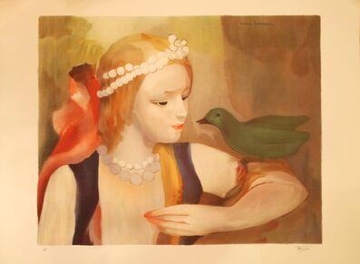 Marie Laurencin, 'La jeune fille à l'oiseau', 1883-1956