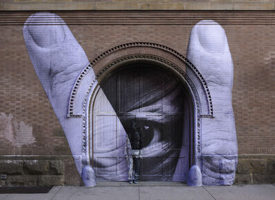 Liu Bolin, 'JR Through the Eye of Liu Bolin', 2012