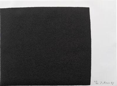 Richard Serra, 'Leo, from the Leo Castelli 90th Birthday Portfolio (B.-W. 118)', 1998
