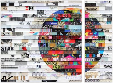 James Verbicky, 'Citta Samtana Diptych', 2019