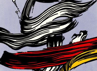 Roy Lichtenstein, 'Burshstroke', 1965