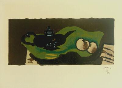 Georges Braque, 'Teapot and Apples   La théière et les pommes', 1946
