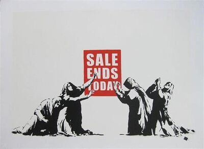 Banksy, 'Sale Ends v2.0 (Signed)', 2017