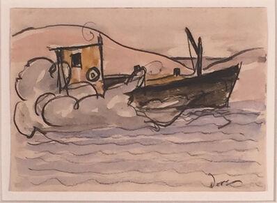 Arthur Garfield Dove, 'OIL BOAT', 1932