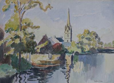 Ludovic-Rodo Pissarro, 'Église de Rosporden, Finistère', ca. 1930