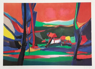 Marcel Mouly, 'Maison Perdue dans les Arbress', 1995
