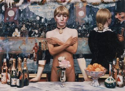 Yasumasa Morimura, 'Daughter of Art History, Theater B', 1989