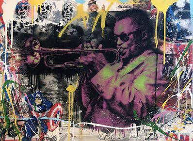 Mr. Brainwash, 'Miles Davis HPM (Pink)', 2015