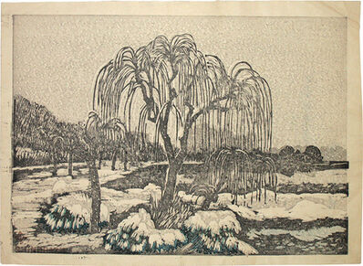Kazuma Oda, 'Shinobazu', ca. 1920s