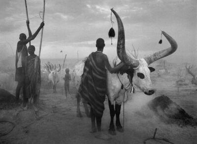 Sebastião Salgado, 'Dinka Group at Pagarau Cattle Camp, Southern Sudan', 2006