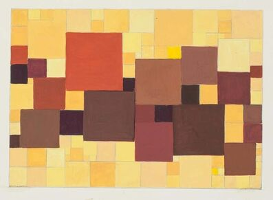 Alkis Matheos, 'Abstract Composition', Mid 20th Century