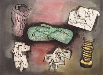Henry Moore, 'Sculptural Ideas 4', 1980
