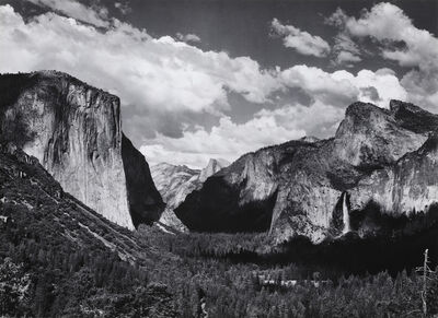 Ansel Adams, 'Yosemite Valley from Inspiration Point, c. 1936', ca. 1936
