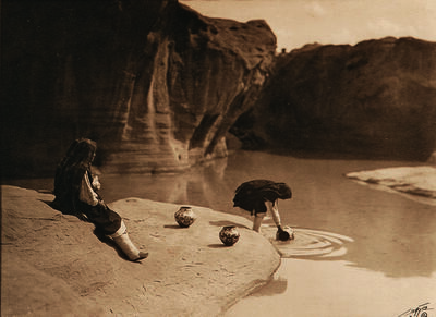 Edward Sheriff Curtis, 'The Old Well of Acoma', 1904