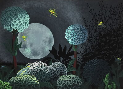 Asako Iwasawa, 'A Moonlight Night'