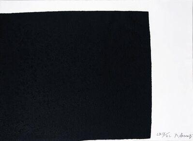 Richard Serra, 'Leo from the portfolio of Leo Castelli's 90th Birthday', 1997