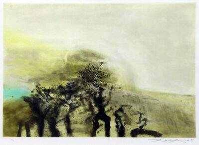 Zao Wou-Ki 趙無極, ' Sans titre', 1989