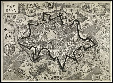 Grayson Perry, 'A Map of Days (Special edition in artist's frame)', 2013
