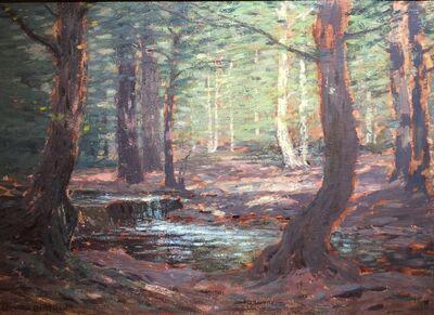 Leonard Ochtman, 'Woodland Stream', 1910
