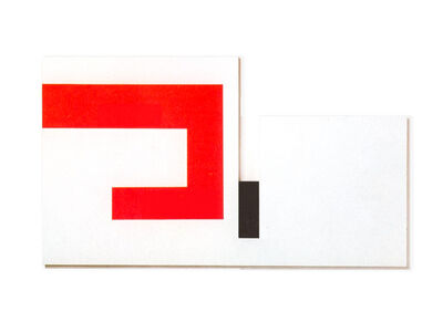 Bruno Munari, 'Positivo Negativo', 1954 -84
