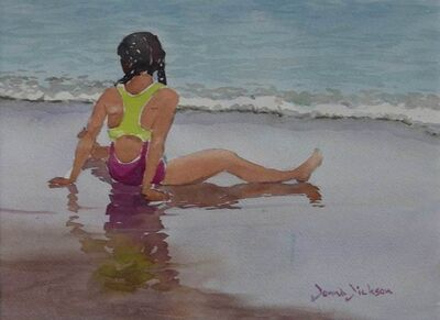 Donna Dickson, 'At Waters Edge'