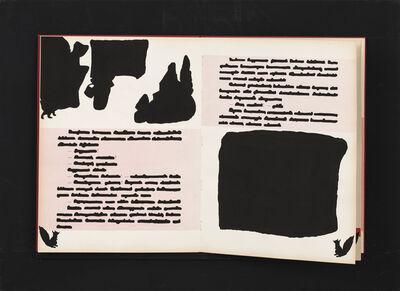 Emilio Isgrò, 'Libro cancellato (Cappuccetto Rosso) ', 1970