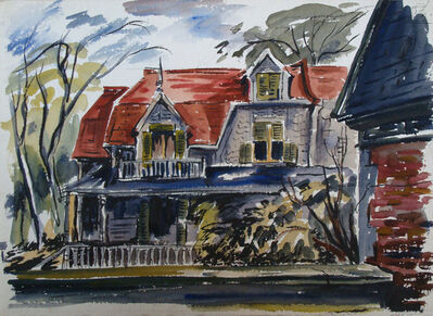 Frederick Hagan, 'Montreal Home', 1946