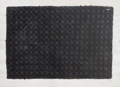 Ding Yi 丁乙, 'Appearance of Crosses 94-B75 ', 1994