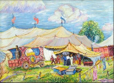 Reynolds Beal, 'Mighty Haag Circus', 1914