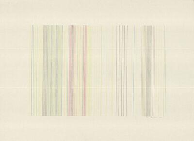 Gene Davis, 'Tight Rope (signed)', 1973
