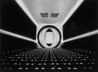 Ruth Bernhard, 'Eighth Street Movie Theater, Architecht, Frederick John Kiesler'