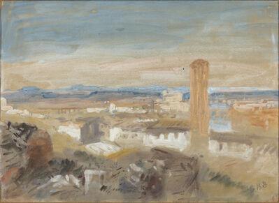 Hercules Brabazon Brabazon, 'A Campanile among Ruins'