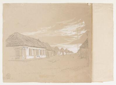 Frederic Edwin Church, 'Calle de Commerce, Barranquilla, Colombia', 1853