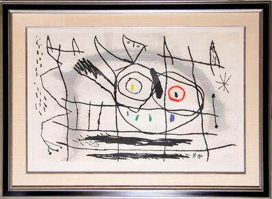 Joan Miró, 'Couple D'Oiseaux II', 1966