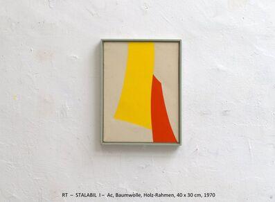 Rainer Tappeser, 'STALABIL III', 1970