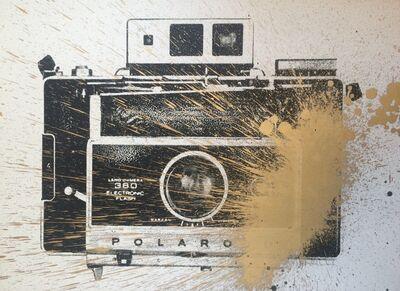 Mr. Brainwash, 'Warhol Polaroid ', 2009