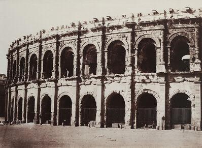 Édouard Baldus, 'Amphitheater, Nimes', 1859-1861