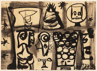 Adolph Gottlieb, 'Composition', 1947