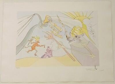 Salvador Dalí, 'The Elephant And The Monkey', 1974