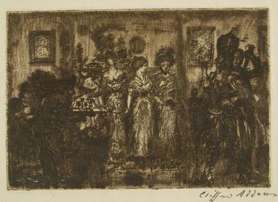 Clifford Isaac Addams, 'Guests', ca. 1920