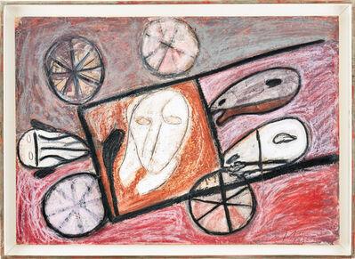 Mimmo Paladino, 'Composizione con una faccia', 1986