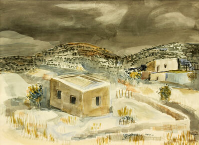 William Thomas Lumpkins, 'Early Snow', 1970