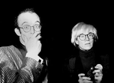 Rose Hartman, 'Keith Haring and Andy Warhol, Studio 54', 2021