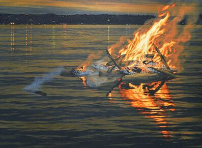 Jeremy Mangan, 'Campfire on Flood Tide', 2017