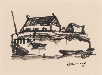 Maurice de Vlaminck, 'Le Port', circa 1955