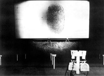 Peter Weibel, 'Fingerprint', 1968