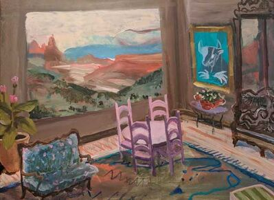 Johnny Defeo, 'Clifftop Hideaway, Zion N.P', 2019