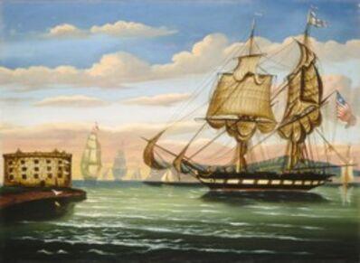 Thomas Chambers, 'Bay of New York, Sunset', mid 19th century