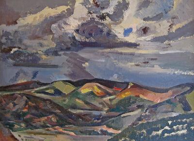Jozef Bakos, 'Departing Storm', 1930